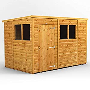 Power-Sheds-10x6-Power-Pent-Wooden-Garden-Shed-Size-10-x-6-Super-Fast-2-3-Day-Delivery-or-Pick-your-own-day