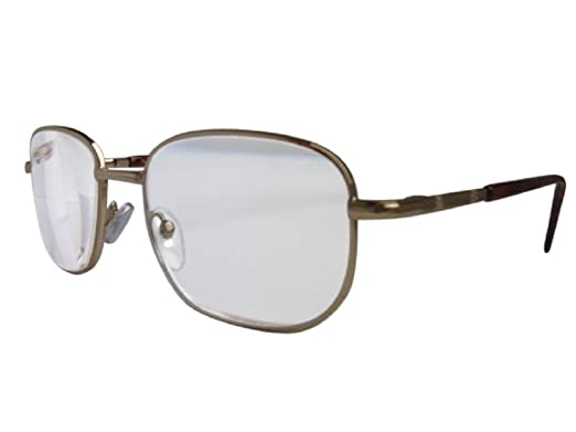 c7a0049036db High Power Magnifying Reading Glasses in Three Frame Colours Extra Strong  Powerful Spring Hinges (Gold, 4.50): Amazon.co.uk: Clothing
