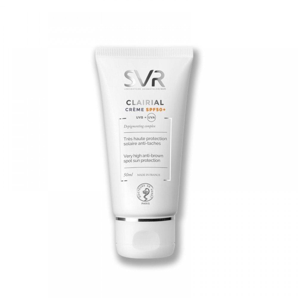 Laboratoire SVR Clairial Creme SPF50+ Protezione Solare Anti-Macchie 50 ml Laboratoires SVR Sole