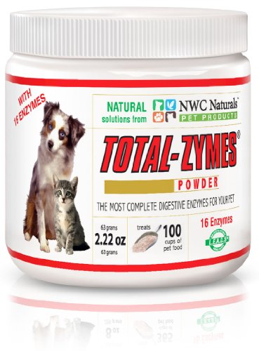 NWC Naturals Total-Zymes Powder, 2.22-Ounce, My Pet Supplies