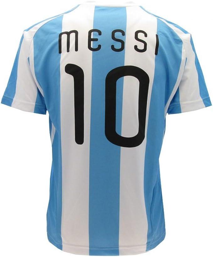 sarragan Maglietta Messi Replica Ufficiale Argentina Colore Bianco Celeste Taglie M-L-XL
