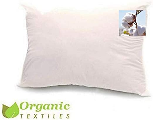 100% Organic Cotton Pillow by Organic Textiles