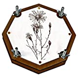 Botanical wooden flower leaf press for Herbarium (handcrafted, personalization available)