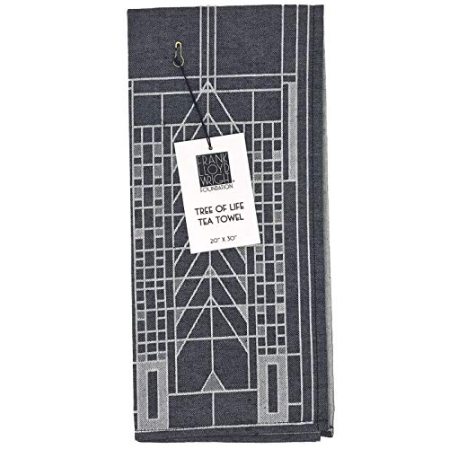 KAF Home Frank Lloyd Wright Woven Jacquard Tea Towel 20 x 30-inch 100-Percent Cotton (Tree of Life) by KAF Home (Image #4)