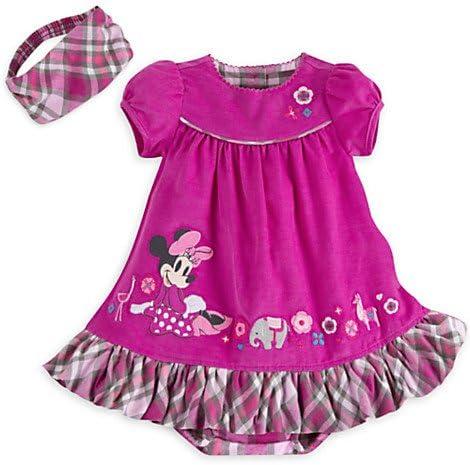 Disney Minnie Mouse Corduroy Woven Dress for Baby 18-24 m Purple