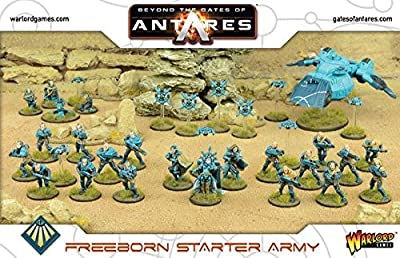 Warloard Games Beyond the Gates of Antares Freeborn Starter Army by Warloard Games