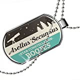 Dogtag Star Constellation Name Bootes - Asellus Secundus Dog tags necklace - Neonblond