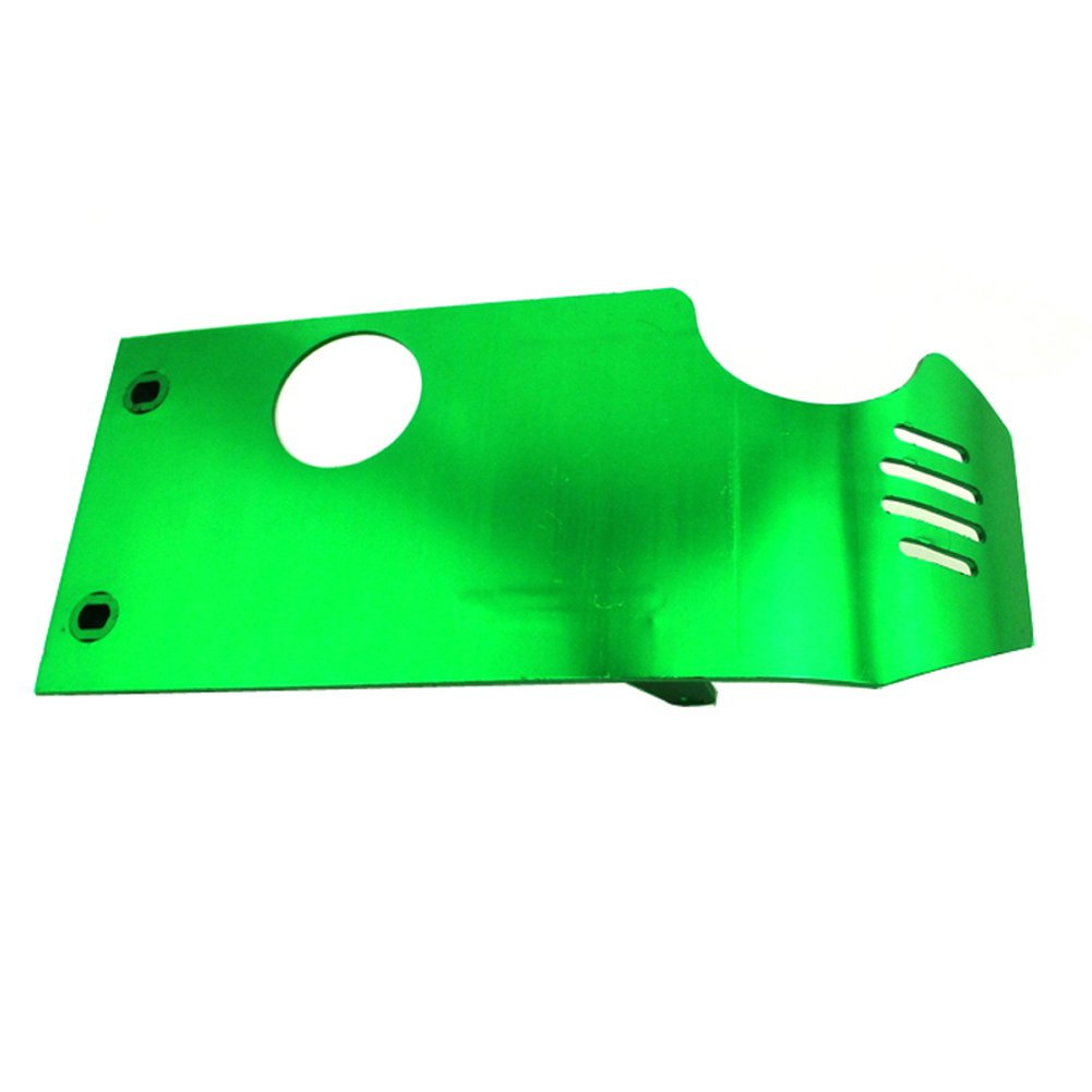 Tc Motor Green Aluminum Engine Skid Plate For Honda Xr50 Crf50 Dirt 50cc Pit Bike