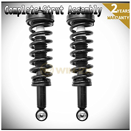 - WIN-2X New 2pcs Front Left & Right Side Quick Complete Suspension Shock Struts & Coil Springs Assembly Kit Fit 04-08 Ford F150 06-08 Lincoln Mark LT 2WD Only