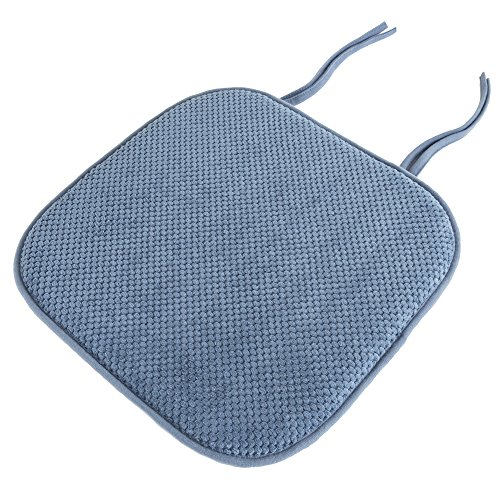 Lavish Home Chair Pad - Blue