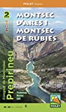 Montsec d'Ares i Montsec de Rúbies. Carpeta con los 2 mapas. 1:20.000. Piolet.