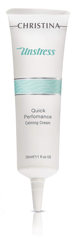 Unstress Quick Performance Calming Cream - Essential Moisture Restoration for Normal, Dry, Combination & Sensitive Skin, 1 fl. oz (30 ml)