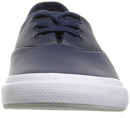 Lacoste Lancelle 3 Eye Sneakers Nvy / Ltgry Leather Para Mujer