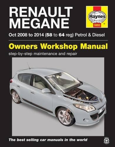 Renault Megane III (08 - 13) Haynes Repair Manual (Haynes Manual) Paperback – 9 April 2015