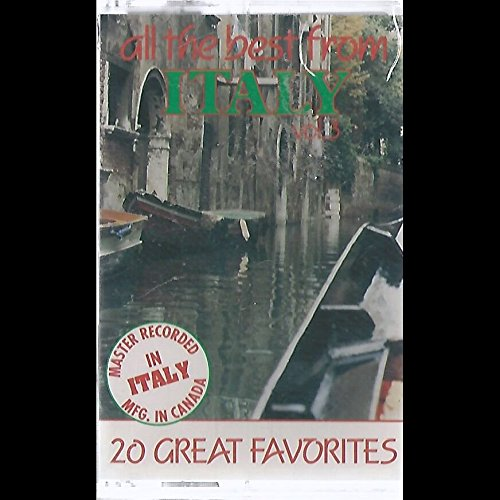 Various: All The Best From Italy Vol. 3 Cassette NM Canada Madacy CLUC-092 (All The Best From Italy)
