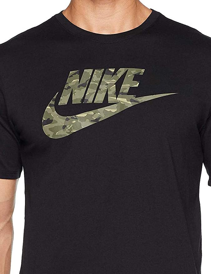 753f4ec1 Nike M NSW Camo Pack 2, Unisex Adult T-Shirt, unisex adult, AJ6633:  Amazon.co.uk: Sports & Outdoors
