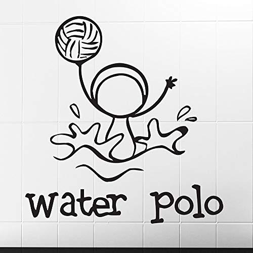 juntop Uno de los Deportes Water Polo Imagen Divertida Pegatinas ...