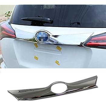 HIGH FLYING ABS Chrome Rear Boot Trunk Lid Molding Cover Trim for Toyota RAV4 2016 2017