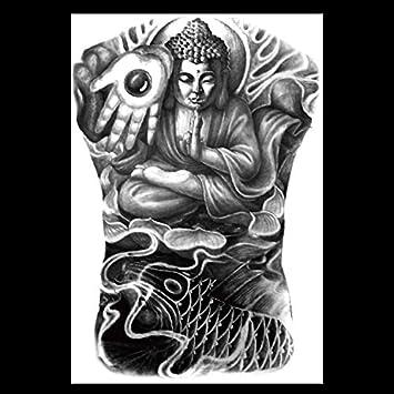 HXMAN Impermeable Tatuaje Temporal Super Grande De La ...