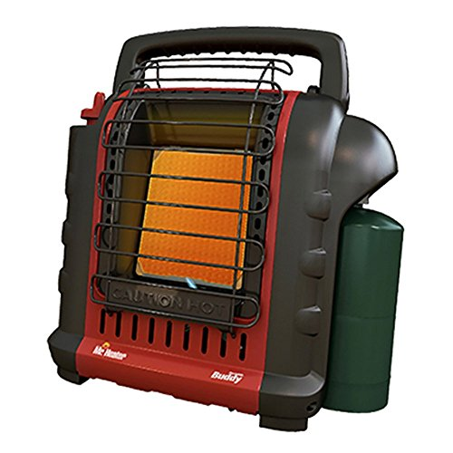 Mr Heater Portable Buddy Radiant Heater Indoor 4000 Btu 250 Sq. Ft. Black 7000 Ft. (For Portable Hunting Heater)