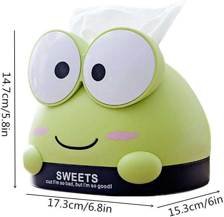 WPCASE Porta Fazzoletti Portafazzoletti Kleenex Box Porta Fazzoletti di Carta Porta Fazzoletti Porta Scatola di Fazzoletti per La Casa Supporto per Scatola di Fazzoletti di Carta a