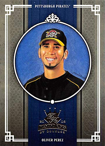 (2005 Donruss Diamond Kings Challenge Baseball #183 Oliver Perez Pittsburgh Pirates Official MLB Trading Card From)