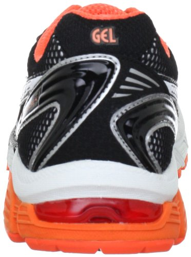 Asics GEL-PULSE 4 - Zapatillas de Material Sintético para mujer Negro Negro - Schwarz (Black/White/Electric Melon 9001)