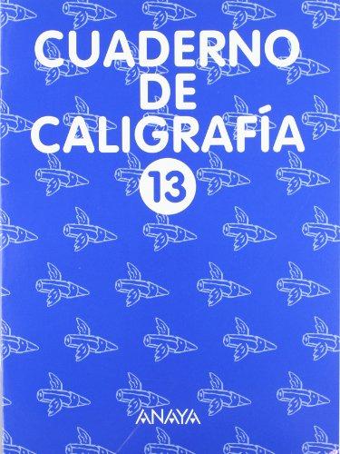 Cuaderno de Caligrafía 13