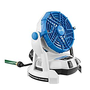 Arctic Cove MBF018 18-Volt Bucket Top Misting Fan