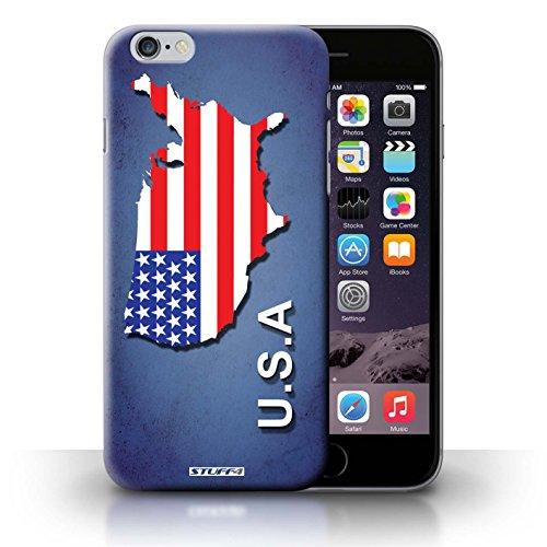 Kobalt® Imprimé Etui / Coque pour iPhone 6+/Plus 5.5 / Amérique/Américain/USA conception / Série Drapeau Pays