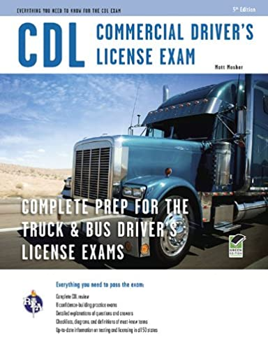 cdl commercial driver s license exam cdl test preparation rh amazon com audio cdl manual audio cdl manual free for montana