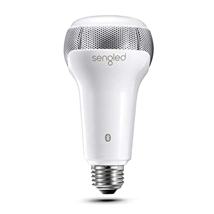 Sengled Solo Bluetooth Light Bulb JBL Speaker Dual Channel Dimmable LED  Light Bulb App Controlled 60W Equivalent E26 Smart Timing Music Bulb,