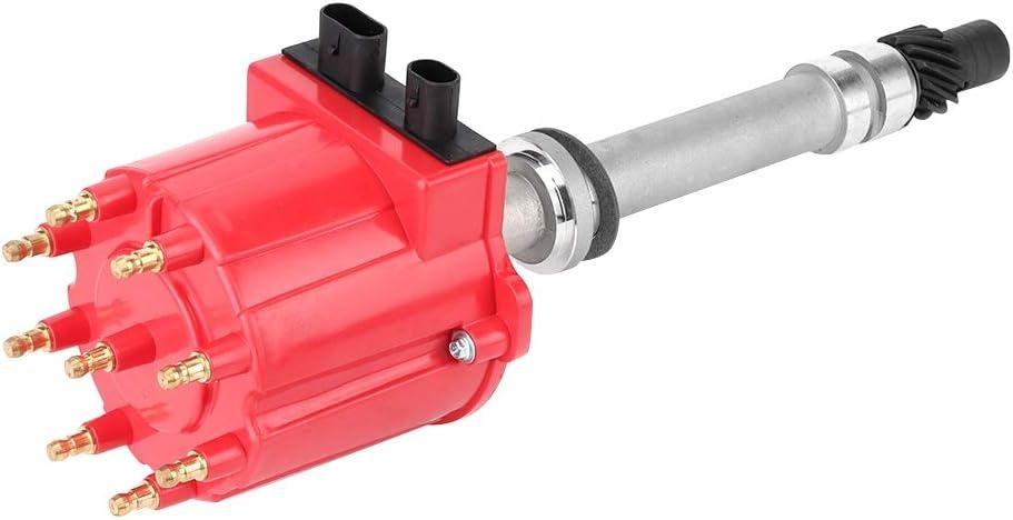10482827 606-02302 Auto Distributor Compatible with Chevrolet//GMC 5.0L 5.7L 7.4L 19052845 Qiilu 10467353