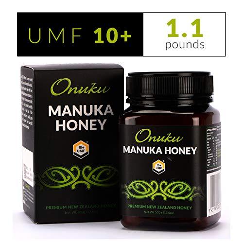 Onuku Manuka Honey Certified UMF 10+ (MGO 264+), New Zealand, 500g (17.64oz)