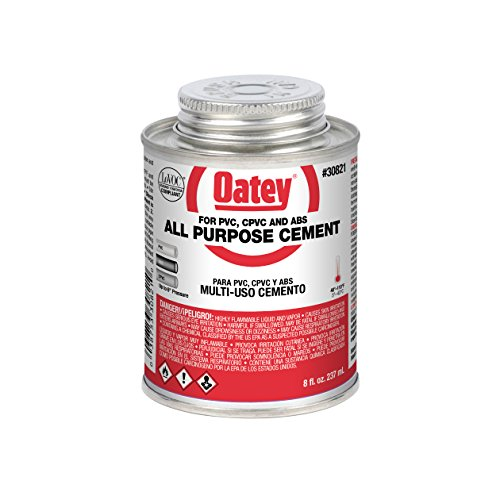 Oatey Abs Cement - Oatey All Purpose Cement Low Voc 8 Oz Clear