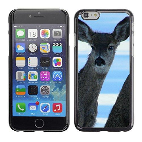"Premio Sottile Slim Cassa Custodia Case Cover Shell // F00030303 cerfs alertées // Apple iPhone 6 6S 6G PLUS 5.5"""