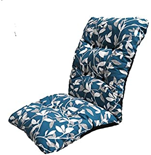 replacement deluxe thick high back garden chair thick cushion pad