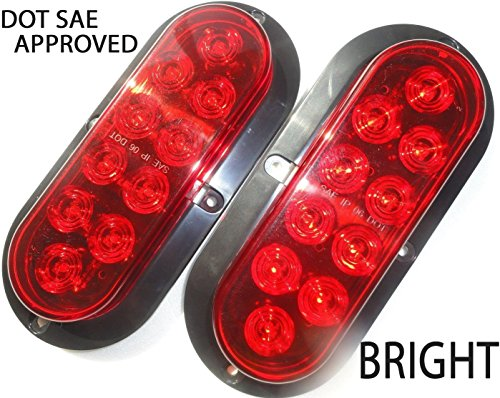 Top 10 recommendation led tail lights trailer surface mount