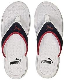 8e85f7c8e4a8 Puma Unisex Lycus 2 Idp Puma White-High Risk Red-Peacoat Sneakers - 10