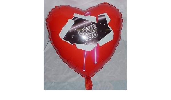 BL351 18 Inch Love You Heart Shaped Foil Balloon
