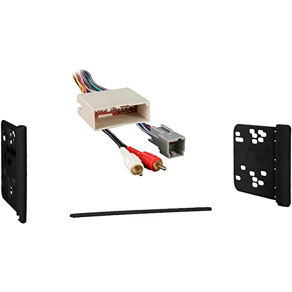Amazon.com: Compatible with Lincoln Town Car 1998 1999 2000 2001 2002  Double DIN Stereo Harness Radio Install Dash Kit Package: Car Electronics | 1998 Lincoln Continental Dash Wiring |  | Amazon.com