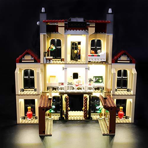 Juego de luces LIGHTAILING para (Jurassic World Indoraptor Rampage en Lockwood Estate) Modelo de bloques de construcción - Kit de luces LED Compatible con Lego 75930 (NO incluido el modelo)