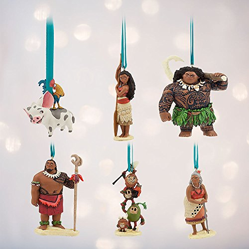Disney Moana Ornament Set - Limited Edition