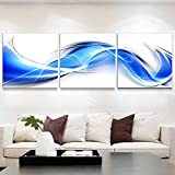 Living room decoration painting/modern and simple decorative painting/triple picture frame/the office study hangs the picture/sofa background wall-H 60x60cm(24x24inch)