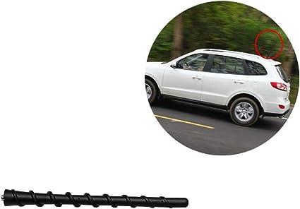 Negro antena 7 pulgadas para Hyundai Santa Fe CM trasero ...