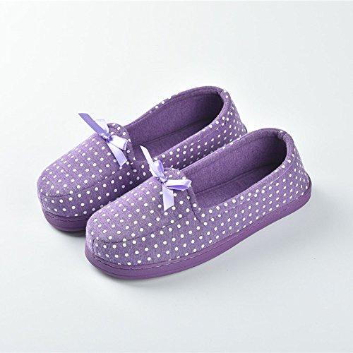 Cómodo Primavera y verano meses zapatos Paquete con suelas blandas mujeres embarazadas antirresbaladizas zapatos de meses Agua maternidad postparto zapatos Zapatillas gruesas de la luna (5 colores opc E