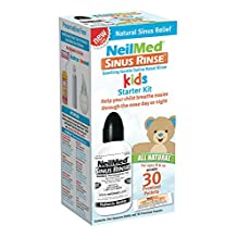 NeilMed Sinus Rinse Pediatric Starter Kit, 1-Count