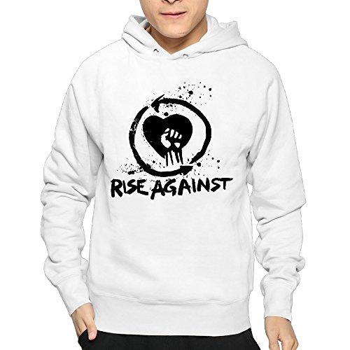 Lightweight 80's Juniors Male Rise Against Band Logo XX-Large Sweatshirt