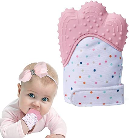 höstskor rabattkod köpa billigt Teething Mitten Mitt Glove Silicone Baby Teether Toy for Girls Chews  Soother Age 3-12 Months: Amazon.co.uk: Baby