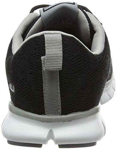 Deportivas Negro Mujer Para Bella Zapatillas grey black Interior Gola qYEvz